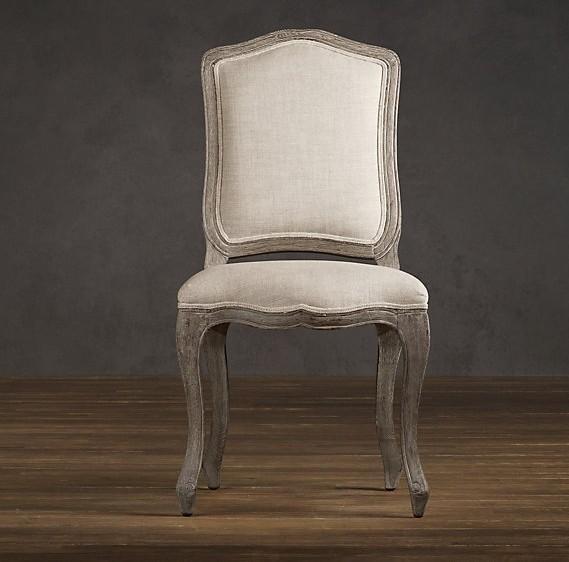 Solid wood oak fabric dining chair modern contemporary for Contemporary oak dining chairs