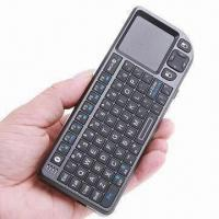 Wholesale 4-in-1 Rii Mini Wireless Bluetooth Keyboard with Mouse, Touchpad, for iPad 2, iPhone 4 from china suppliers