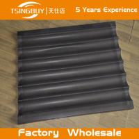 Wholesale Factory high quality bread baking aluminum sheet-large baking tray-non-stick french baguettes baking tray from china suppliers