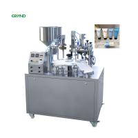 Wholesale Semi Automatic Plastic Tube Filling And Sealing Machine Grease Cosmetic Toothpaste from china suppliers