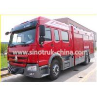 Wholesale 400HP Engine Rescue Fire Truck With 8 Ton Capacity Water Tank And Water Cannons from china suppliers