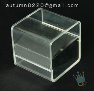 China BO (10) acrylic jewelry box on sale