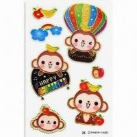 Wholesale Stickers, Suitable for Promotional and Gift Purposes, Available in Various Shapes from china suppliers