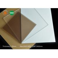 China 3mm plexiglass sheet clear hard coating acrylic apply to semi-conductor industries on sale