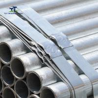 Wholesale Scaffolding  Galvanized Iron Pipe , Galvanized Round Tube Q235B EN39 BS1139 from china suppliers
