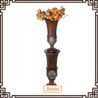 Wholesale resin craft resin gift home decoration home decorative resin floor vases A0375Q+8830Q from china suppliers