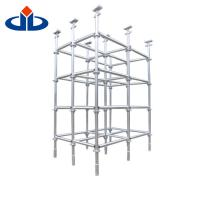 Wholesale Safety Metal Ringlock Scaffold System Build Jack Scaffolding Self - Locking from china suppliers