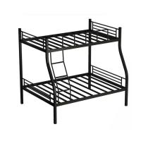 China Home steel metal bed school dormitory bed design iron loft furniture hostel bunk bed on sale