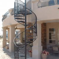 Charmant Quality Antique Wrought Iron Stair Circular Metal Spiral Staircase For Sale  ...