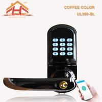 Wholesale Smart Bluetooth Electronic Keypad Door Lock Password Control For Home Security from china suppliers