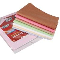 Colorful car cleaner microfiber chamois cloth for glass for Glass cleaning towels