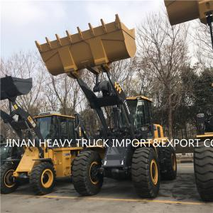 Wholesale 2.4m3 Bucket 4 Ton Hydraulic Wheel Loader XCMG LW400KN from china suppliers