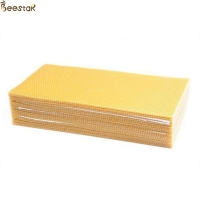 Wholesale Customized Cell Size Pure Natural Beeswax Grade D Confectionary Industries from china suppliers