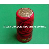 China PVC SHRINKABLE WINE CAPSULE WITH PATTERN wholesale