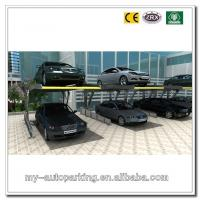 China Two Post Simple Parking Lift Double Stack Parking System Smart Parking System 2 Level Park on sale
