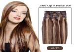 Beauty Dream Girl Light Brown Hair Extensions Clip In Virgin Hair