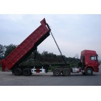 Wholesale 30 Cbm Steel Semi End Dump Trailers / Bulk Tipper Trailer With 2 BPW Axles from china suppliers