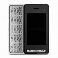 Wholesale Fashionable 3G Phones, Full QWERTY Keyboard, 5-megapixel Camera, Wi-Fi, Sized 104.5 x 54 x 16.8mm from china suppliers