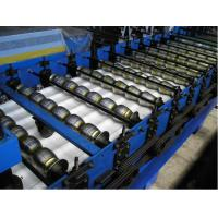 Buy cheap Roof Sheet Tile Roll Forming Machine in Wall / Roof Construction for Outdoor from wholesalers