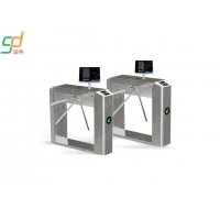 Wholesale Double Direction Tripod Turnstile Gate Controlled Access Turnstiles Card Reader Gate from china suppliers