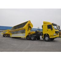 Wholesale 60 Ton - 200 Ton Hydraulic Side Dump Semi Trailer For Coal And Mineral Delivery from china suppliers