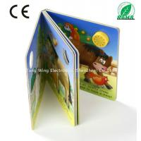 37mm Round Sound Module For Baby Sound Books , Educational Board Book baby
