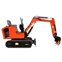 Wholesale 1T 2T 3T Rotary Excavator Mini Digger Hydraulic Crawler Machinery from china suppliers