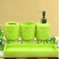 Wholesale bathroom accessories gift suit with 8100(8pcs) from china suppliers