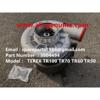 Wholesale 3804494 TURBO CHARGER CUMMINS ENGINE TEREX UNIT RIG BUCYRUS MT4400AC MT5500 MT3600 NTE240 NTE260 NHL DUMP TRUCK HAULER from china suppliers