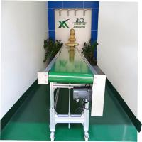 Wholesale Industrial Equipment Food Grade Conveyor , Inclined Cleated Belt Conveyor from china suppliers