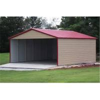 Wholesale Wholesale outdoor customized size steel garage for sale/three Car Metal Frame garage from china suppliers