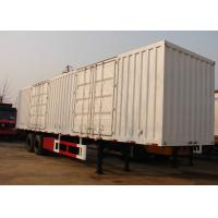 Wholesale 13m Roof Opened Steel Dry Van Freight Trailer 2 Axles For Goods Transportation from china suppliers