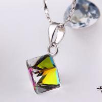 Wholesale Ref No.: 106014 Ice color Elements Swarovski necklace silver plated jewellery earrings jewelry graphics from china suppliers