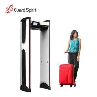 Wholesale Super Sensitivity Archway Metal Detector Gate , Door Frame Metal Detector For Hotel Security from china suppliers