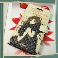 Wholesale Lovely Girl Embossing Leather Case for Samsung Galaxy S2 I9100 from china suppliers