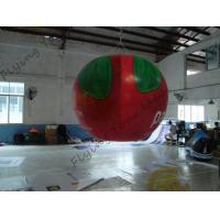 Buy cheap B1 Fireproof PVC Apple Fruit Shaped Balloons With Full Digital Printing 3m Height from wholesalers