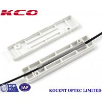 China FTTH Optic Fiber Drop Cable Protection Box KCO - PB-S-01 For 60mm Optical Sleeve wholesale