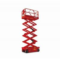 Wholesale 12m Industrial Electric Scissor Lift , Motorised Scissor Lift 40 Ft Height Lift from china suppliers