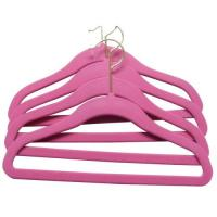 Wholesale Flocked Children Hanger, Velvet Kids Hanger (LD-C018) from china suppliers