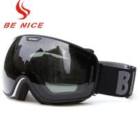 Wholesale Anti Fog Scratch Mirrored Ski Goggles TPU Frame With CE , FDA Certificate from china suppliers