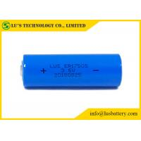 Wholesale ER17505 Lithium Primary Thionyl Chloride Cell 3.6V 3400mAh Li SOCl2 from china suppliers
