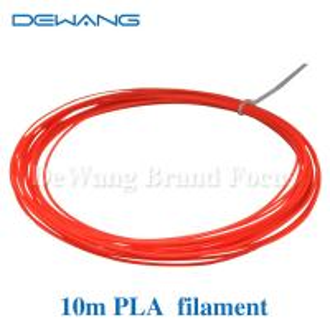 Custom  red , yellow , transparent  PLA 3D Printer Filament 3d printing consumables