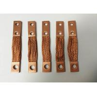 Buy cheap Braided Flexible Copper Connector Custom Tinned Copper Busbar CE ISO CCC from wholesalers