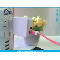 Wholesale DC 5V 2A Dual Multi Port Usb Hub Wall Charger , Multiple Usb Port Charger from china suppliers