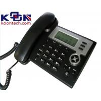 Wholesale SIM Card VOIP SIP Phone For Office Telephones , Speed Dial Support Route / Bridge Model from china suppliers