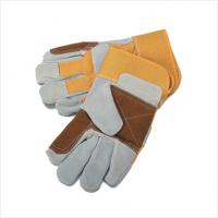 Wholesale Cow split welding gloves MWG010 from china suppliers