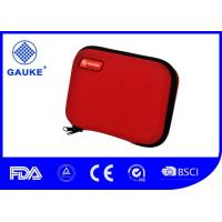 Red EVA Day Hike Outdoor First Aid Kit Shell Bag Fashionable Designed