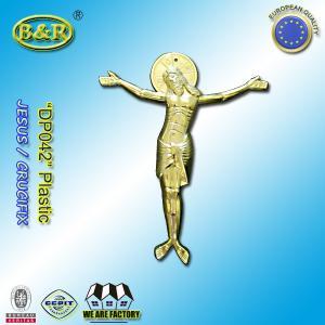 China Casket Plastic Decoration Coffin Lid Jesus Ref No DP042 size 22x26.5cm plastico cristo jesus wholesale