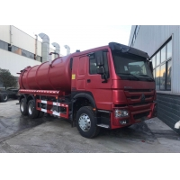 Buy cheap SINOTRUK HOWO 6X4 336hp Vacuum Sewage Suction Truck from wholesalers