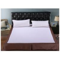 Buy cheap Fashion Washable White King Size Bed Skirt / Hotel Collection Bedding from wholesalers